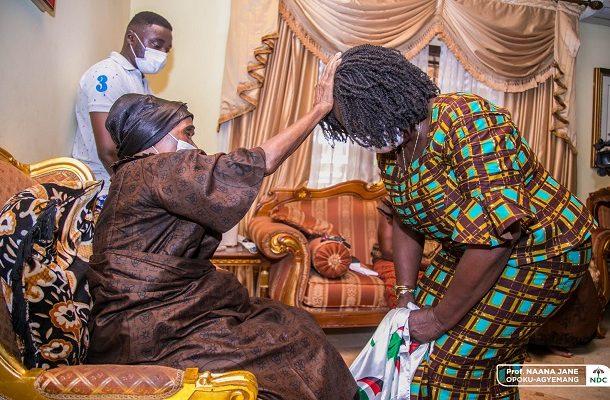 You're not humble - Jane Naana slammed over her posture before Asantehemaa