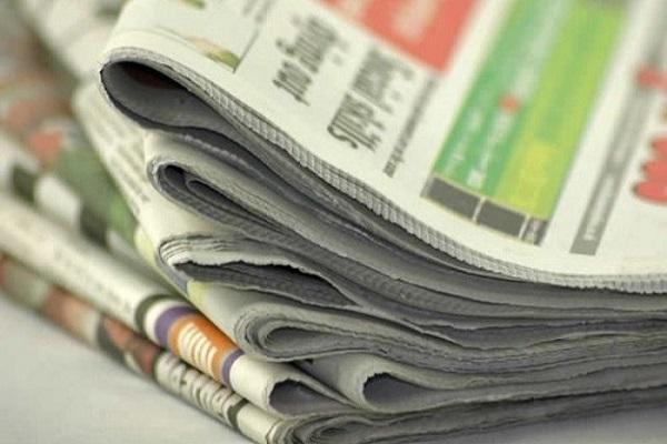 Newspaper headlines for today, Wednesday, September 15