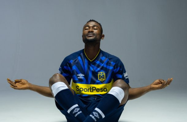 PHOTOS: Cape Town City FC unveils new striker Prince Opoku Agyemang