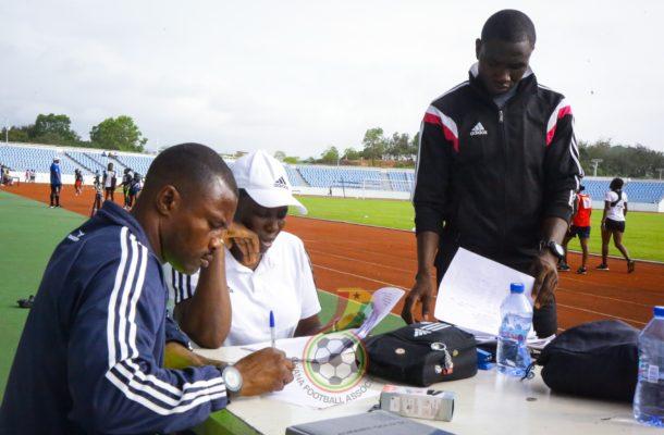 PHOTOS: Referees fitness training at Cape Coast
