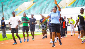 PHOTOS: Northern sector Referees undergo fitness test