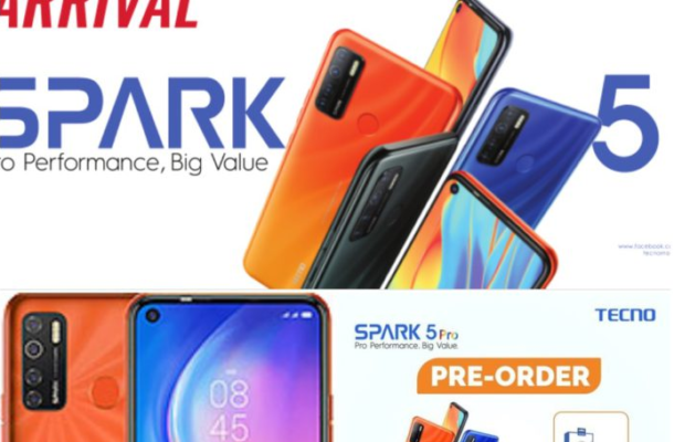 Tecno Mobile launches pre-order phase of Spark 5 Pro in Ghana