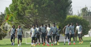 PHOTOS: Ghana holds first training session in Antalya ahead of Mali, Qatar friendlies