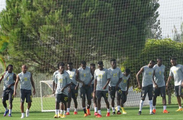 PHOTOS: Ghana holds first training session in Antalya ahead of Mali, Qatar friendlies