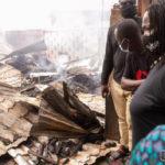 Naana Opoku-Agyemang visits Odawna Market fire scene
