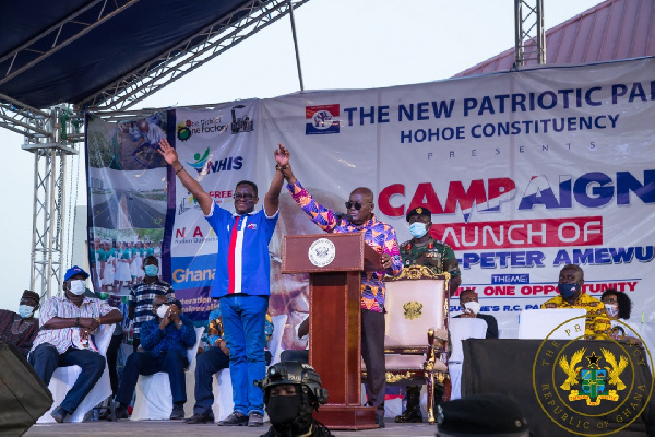 Volta Region saw 'zero progress' under NDC – Akufo-Addo