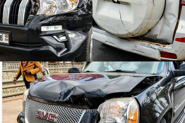 Presidential candidate's  convoy involved in accident