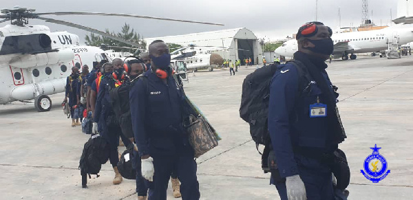 Police deploy officers to Somalia