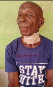 Court remands 75-year-old pastor who allegedly butchered his wife