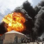 Premix fuel station explosion injures 10