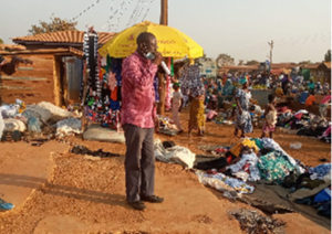 VIDEO: Ex-President Kufuor's spokesperson turns preacher on Kpassa streets