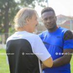 Asamoah Gyan will start playing very soon - Legon Cities coach