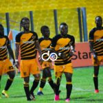 Ashgold's Hans Coffie denies Hearts a win in their league opener