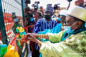 PHOTOS: Dr Bawumia inaugurates New Fadama astro turf named after National Chief Imam
