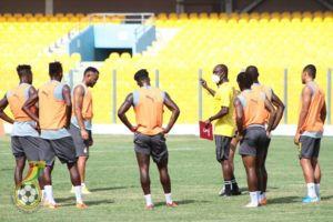 PHOTOS: Black Stars train ahead of Sudan AFCON qualifier