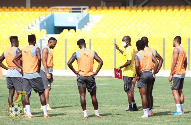 PHOTOS: Black Stars train ahead of Sudan AFCON qualifier