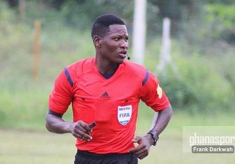 Ghana's top-most referee Daniel Laryea selected for CHAN tournament in Cameroon