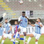 Derrick Sassraku scores on his debut for Tirana in Albanian League