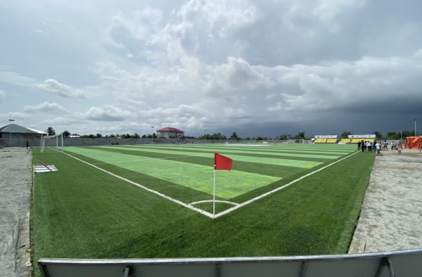 PHOTOS: Check out Karela's renovated astro turf pitch