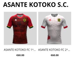 We don't buy Errea jerseys the sponsorship is worth €56,000 per year - Kotoko CEO