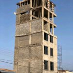 Social media users raise 'safety and structure integrity' concerns of a storey building in Ashaley Botwe