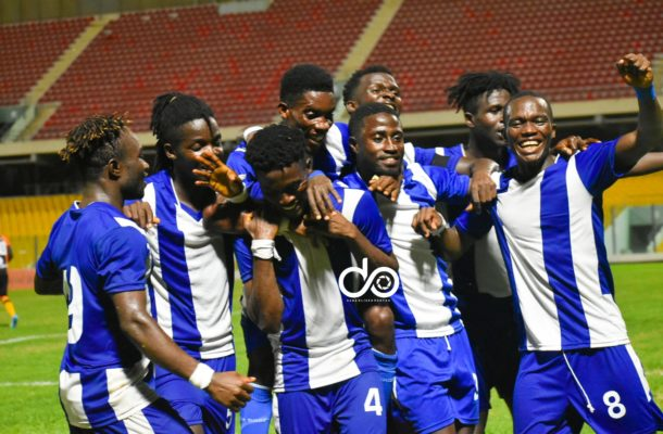 VIDEO: Watch highlights of Great Olympics win over Legon Cities