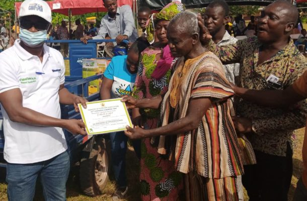 Farming not a curse, the youth must get involved - Asunafo North MCE
