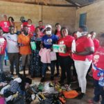 C/R: NPP Loyal Ladies - UK donates to Nyamebekyere Kramokrom residents