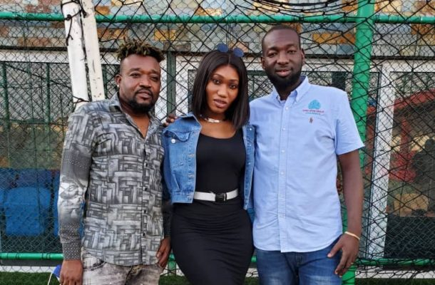 Wendy Shay, Bullet calls on Afro-Arab Group Chairman