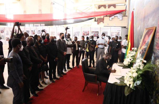 Dr Agyepong eulogises 'fair, firm & principled' Rawlings