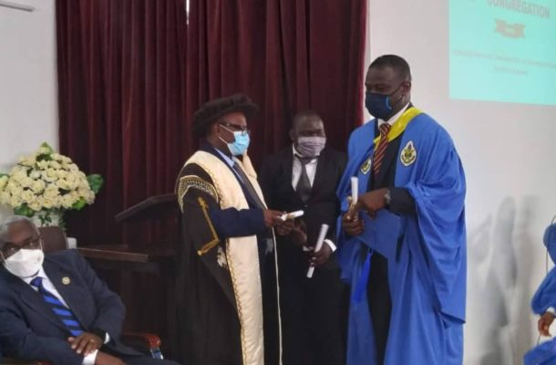 Annor Dompreh graduates from ILGS with Masters Degree in Environmental Science