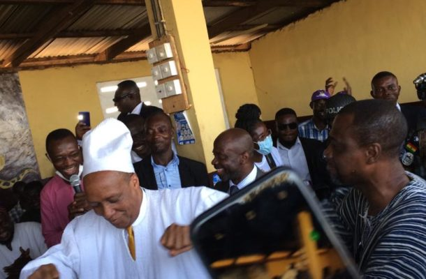 PHOTOS: Independent presidential candidate, Kwame Walker enskinned as Chief in Tamale