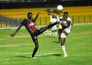 VIDEO: Watch Richmond Lamptey's thunderbolt that handed Inter Allies win against Hearts