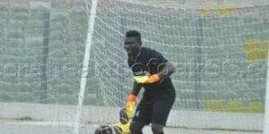 VIDEO: Ebusua Dwarfs goalie Issah Razak scores late free kick against Elmina Sharks