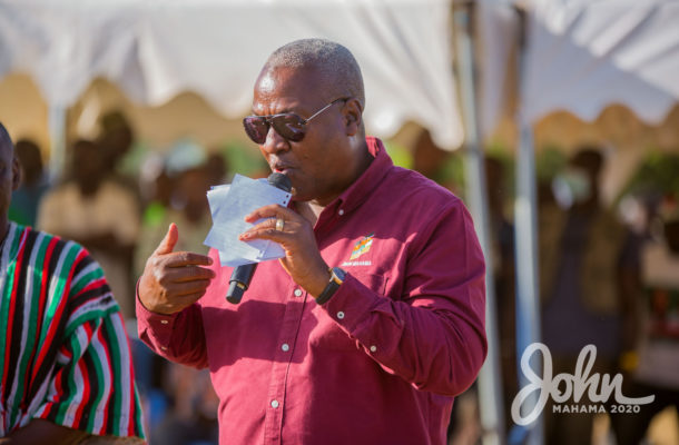VIDEO: John Mahama celebrates his birthday with children on admission at Tamale Teaching Hospital