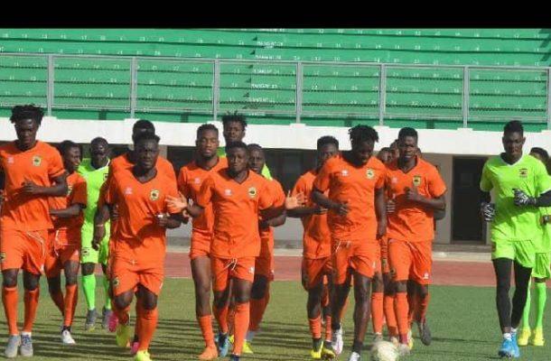 PHOTOS: Kotoko train in Mauritania ahead of FC Nouadhibou clash