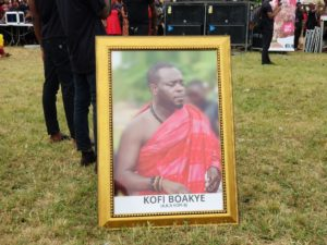 PHOTOS & VIDEO: Funeral rites of the late Kofi B underway at Asante Akyem Agogo