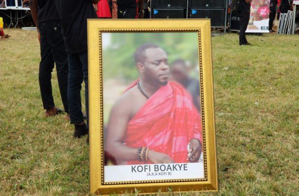 PHOTOS & VIDEO: Funeral rites of the late Kofi B underway at Asante Akyem Agogo