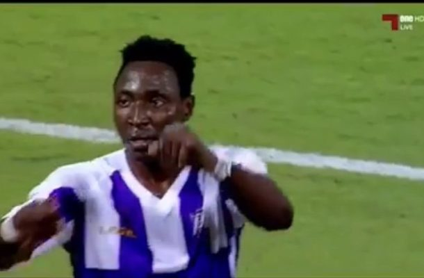VIDEO: Former Hearts striker Kofi Kordzi scores second goal for Qatari side Muaither