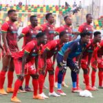 MTN FA Cup: Kwame Baah starts in goal for Kotoko against BYFA