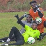 Kotoko goalie Kwame Baah sends get well soon message to crocked Felix Annan