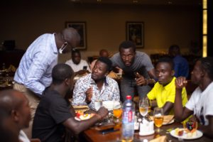 PHOTOS: Legon Cities hold feast for players and technical team ahead of new season