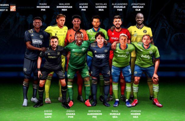 Ghanaian defender Jonathan Mensah makes MLS best XI