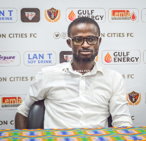 Legon Cities target Samuel Boadu, Ignatius Osei Fosu as new coach