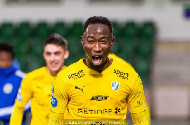 Excited Sadat Karim helps Halmstads secure promotion to Swedish topflight league