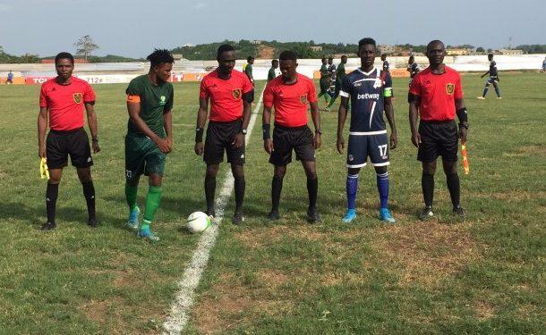 MATCH REPORT: Liberty Professionals earn deserving point against Elmina Sharks