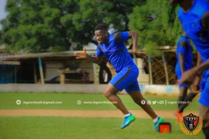 PHOTOS & VIDEO: Asamoah Gyan holds first training session for Legon Cities