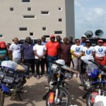 Kwahu: NPP patron donates motorbikes, t-shirts to support campaign