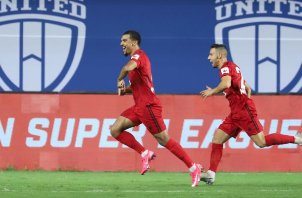 Kwesi Appiah scores on his debut for Indian Super League side NorthEast United