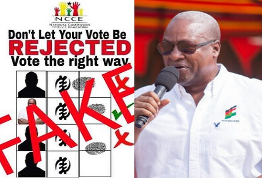 2020 polls: We haven't endorsed Mahama - NCCE refutes claims